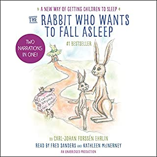 The Rabbit Who Wants to Fall Asleep audiobook cover art