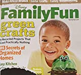 Disney Family Fun April 2010 Green Crafts - Recyled Projects, 25 Secrets of Organized Homes, Easy Kitchen Science Projects, 8 Best Family Board Games, Easter Crafts, Make-Ahead Brunch