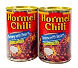 Hormel Chili Turkey with Beans, 15 Ounce (Pack of 2 Cans)