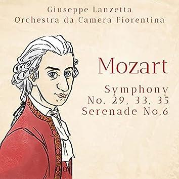 Mozart: Symphony No. 29, 33 & 35 - Serenade No. 6