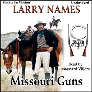 Missouri Guns audiobook cover art