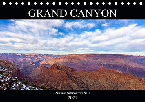 GRAND CANYON - Einblicke (Tischkalender 2021 DIN A5 quer)