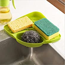 HOME CUBE® Large Sink Dish Drainer Vegetable Fruit Drying Rack Washing Holder Organizer Tray for Kitchen Tools = 1 Pc