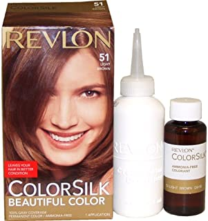 Revlon Colorsilk Beautiful Color, 51 Light Brown