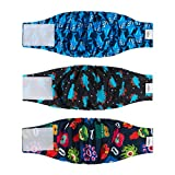 CuteBone Dog Belly Bands for Male Dogs Wraps Washable Doggie Diapers...