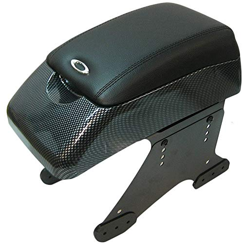 Mittelarmlehne Armlehne Universal Konsole Mittelkonsole Kunstleder Aufbewahrungsbox Carbon A B C G H J CC 3 4 5 6 7 Autohobby