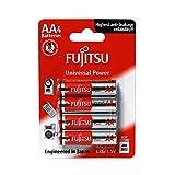 Fujitsu FB86300 - Pack de 4 baterías alcalinas Universal Power (LR6 FU, tamaño AA)