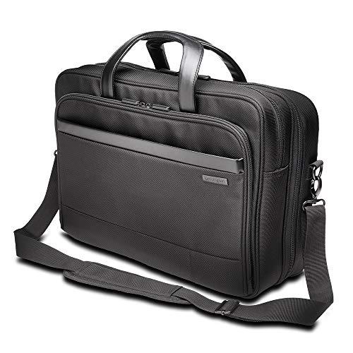 Kensington Laptop Aktentasche Contour 2.0 17 Zoll, Laptop Umhängetasche für Damen und Herren, Ideales Handgepäck mit wasserdichten Sicherheitstaschen für Laptops und Tablets bis 17 Zoll, K60387EU