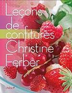 Leçons de confitures de Christine Ferber