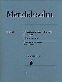 Klaviertrio Nr. 1 op. 49 Floetenstimme