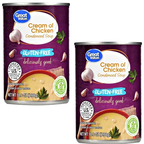 Gluten Free Cream of Chicken Condensed Soup, 10.5 oz, Pack of 2