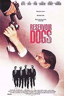 RESERVOIR DOGS (1992) Original Authentic Movie Poster - 27x41 One Sheet - Single-Sided - Harvey Keitel - Tim Roth - Michael Madsen - Chris Penn
