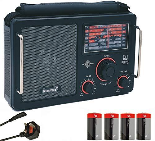 Steepletone MBR1051-19 (Mk 4 Model) High Sensitivity World Multi Band Radio...