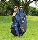 10-Pocket Golf Cart Bag, Orange