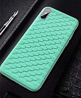 SDFNXCM 携帯ケースIphone 6 6S 7 8プラスファッションソフトカバー面白いスケールパターンケースCapa、スタイル4、Iphone 7用