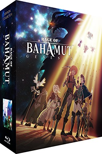 Rage of Bahamut: Genesis - Intégrale - Edition Collector Limitée - Combo [Blu-ray] + DVD [Édition Collector Blu-ray + DVD]