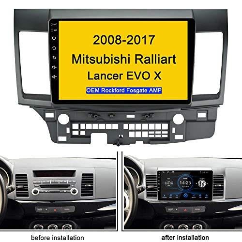 for 2008-2017 Mitsubishi Ralliart Lancer EVO Android 10.1 Car Radio Stereo GPS Bluetooth USB Player Mirror Link Play