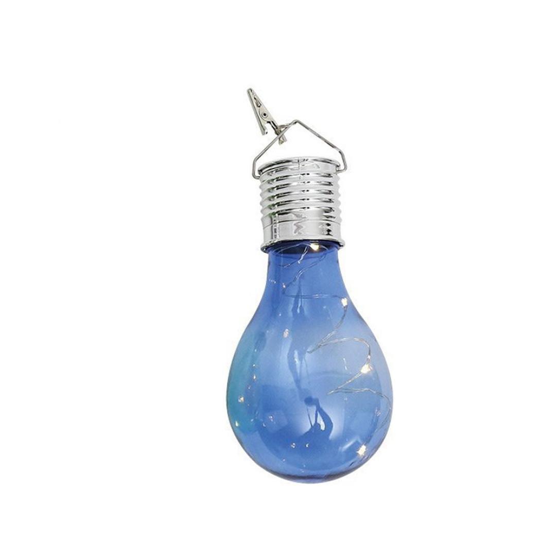 Verano Solar luces bombillas, kingko® Impermeable LED giratoria Lámpara Bombilla Jardín Patio luces, lámpara colgante