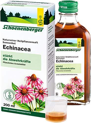 Schoenenberger Bio Naturreiner Heilpflanzensaft Sonnenhut Echinacea (6 x 200 ml)