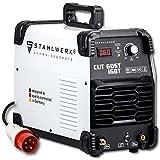 STAHLWERK CUT 60 ST IGBT Plasmaschneider mit 60 Ampere bis 24mm Schneidleistung für Lackierte Bleche und...