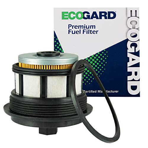 ECOGARD XF59292 Premium Diesel Fuel Filter Fits Ford F-250 Super Duty 7.3L DIESEL 1999-2003, F-350 Super Duty 7.3L DIESEL 1999-2003, Excursion 7.3L DIESEL 2000-2003