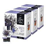Pickwick Slow Tea Smooth Grey, 3er Pack (3x25 kuvertierte Teebeutel à 2,7g), Schwarzer Tee, feine...
