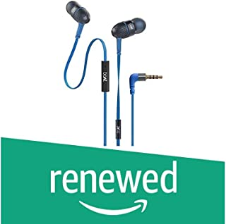 (Renewed) Boat BassHeads 225 Special Edition in-Ear Headphones with mic (Blue)