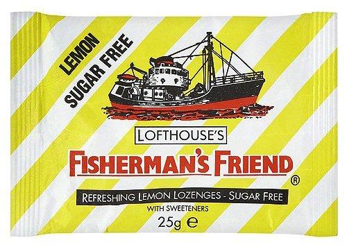 Fisherman 's Friend Lutschtabletten Lemon Sugar-Free mit Süßungsmitteln 25g