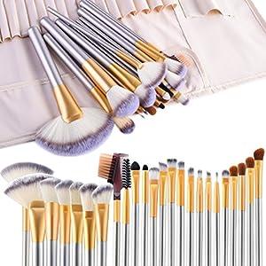 Beauty Shopping Make up Brushes, VANDER LIFE 24pcs Premium Cosmetic Makeup Brush Set for Foundation