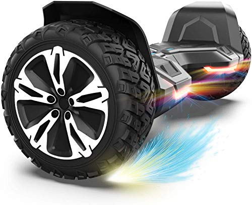 Gyroor Warrior 8.5 inch All Terrain Off Road Hoverboard with Bluetooth...