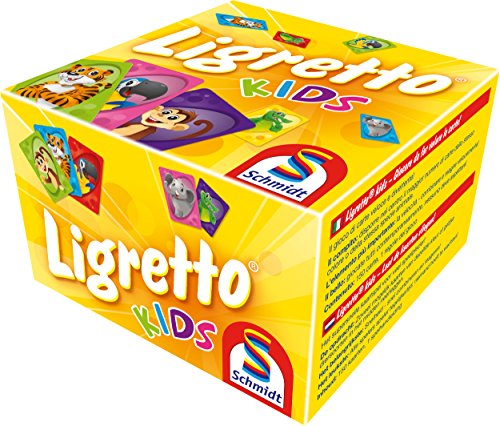 Schmidt Games 01403 - Ligretto Kids, kaartspel