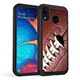 Galaxy A10E Case, Galaxy A20E Case,Rossy Heavy-Duty Hybrid Hard PC & Soft Silicone Dual Layer Shockproof Protection Case for Samsung Galaxy A10E/A20E,Ball Sports Football
