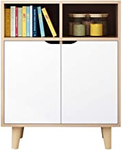 Living Equipment coffee table for living room Sideboard Storage Cabinet Storage Cabinet Bookcase with Doors Free Standing ...