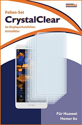 mumbi Schutzfolie kompatibel mit Huawei Honor 6X Folie klar, Displayschutzfolie (6x) - 3