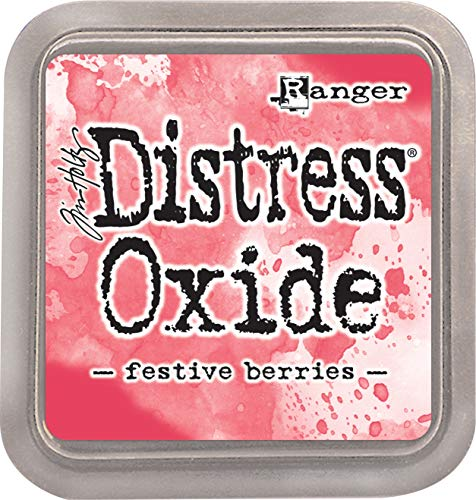 Ranger Tim Holtz Distress Oxides Ink Pad-Festive Berries |