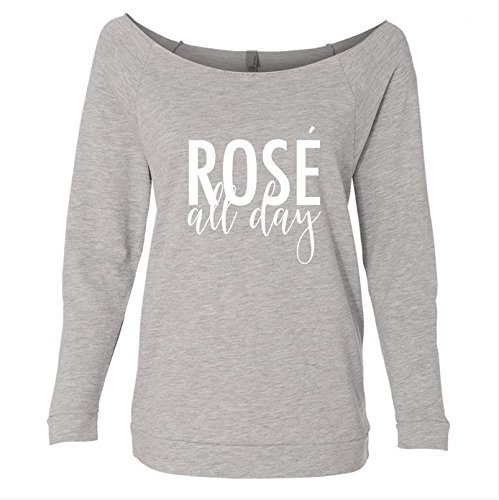 Rose All Day 3/4 Sleeves Raglan Lightweight Sweater for Women