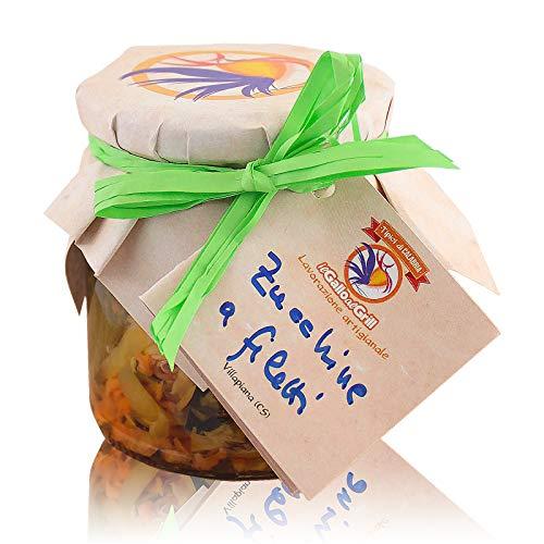 Scapece di Zucchine Calabresi a filetti - 300g
