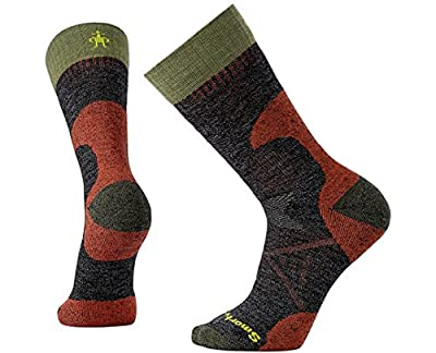 Smartwool PhD Outdoor Light Crew Socks - Men's Hunt Medium Wool Performance Sock Black M Unisex