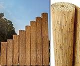 Schilfrohrmatten Premium Beach, 220 hoch x 600cm breit, EIN Produkt von Bambus-Discount - Sichtschutz Matten Windschutzmatten