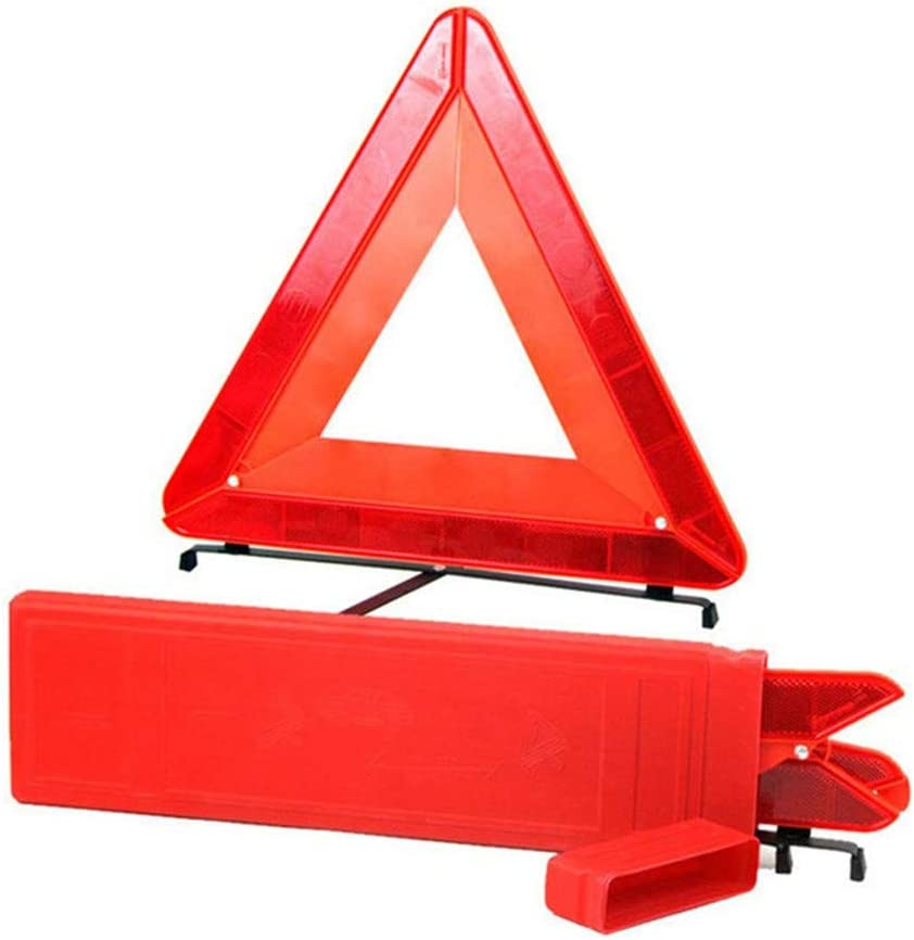 Reemky Under blast sales security Foldable Warning Triangle LED Roadside Reflect Safety Car