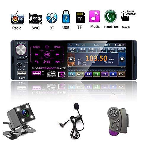 Single Din Auto Stereo Radio, 12V 4.1
