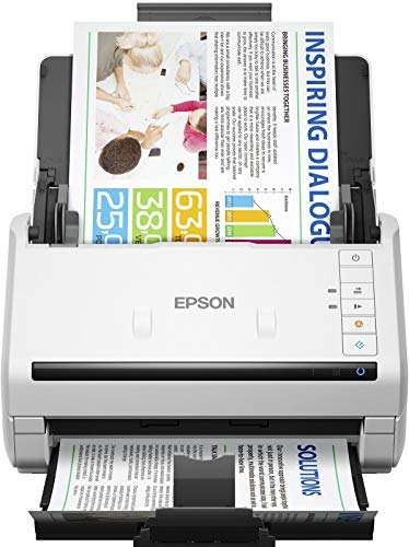 EPSON BUSINESS - SCANNER (B4) Workforce DS530II USB 3.0 Plana 600DPI 30BIT