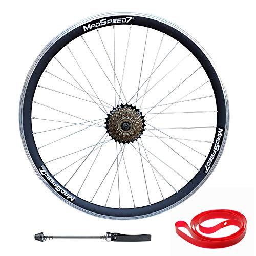QR 27.5' 650b (ETRTO 584x19) MTB Mountain Bike REAR Wheel Shimano 7 speed
