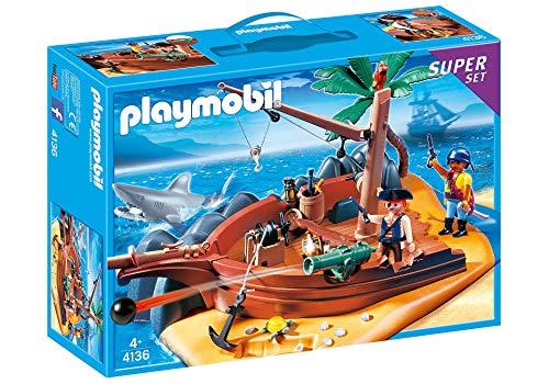 PLAYMOBIL® 4136 - SuperSet Seeräuberinsel
