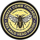 SWEET COMB CHICAGO Bee Bald Head Polish, 4 OZ