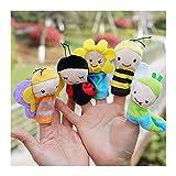 Jouet marionnette 5 Pack Mini An...