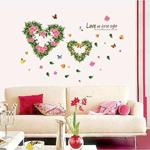 Cooldeer Persoonlijkheid bloem decoratieve liefde creatief wandbord animatie tuin kinderkamer wandbord