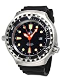 Tauchmeister 52mm Automatik Uhr 24 Std. Funktion Saphir Glas T0278