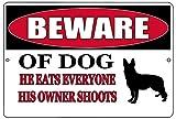 Lawenp Nuevo cartel de chapa de barra de metal Vintage, cuidado con la decoración del perro, patio al aire libre, calle, hogar, Bar, cocina, club, carteles de decoración de pared, 12x8 pulgadas