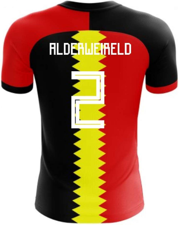 2018-2019 Belgium Flag Concept Football Shirt (Toby Alderweireld 2)